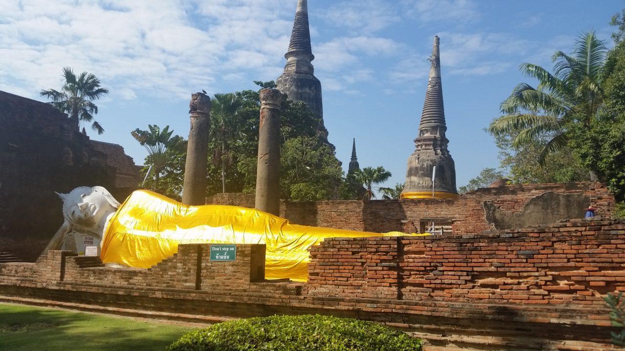 Ruínas do Templo Ayutthaya - Foto: Jo Machado