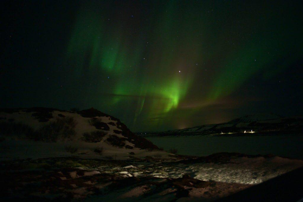 a nossa primeira aurora - foto por Ola Persson