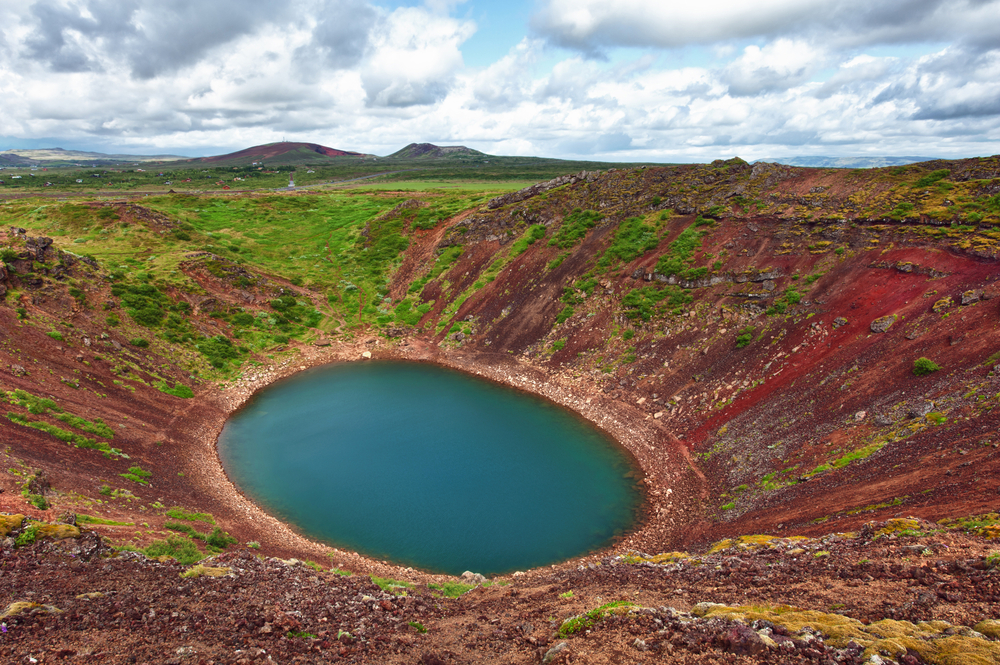 Cratera Kerid por Filip Fuxa - Shutterstock.com