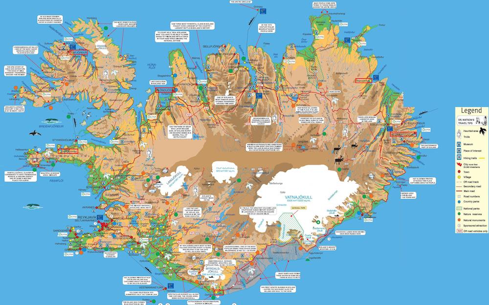Iceland-Tourist-Map