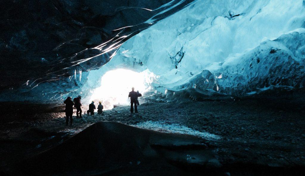 Nós na nossa caverna de gelo, onde ficamos por 4 horas - foto Lalai Persson