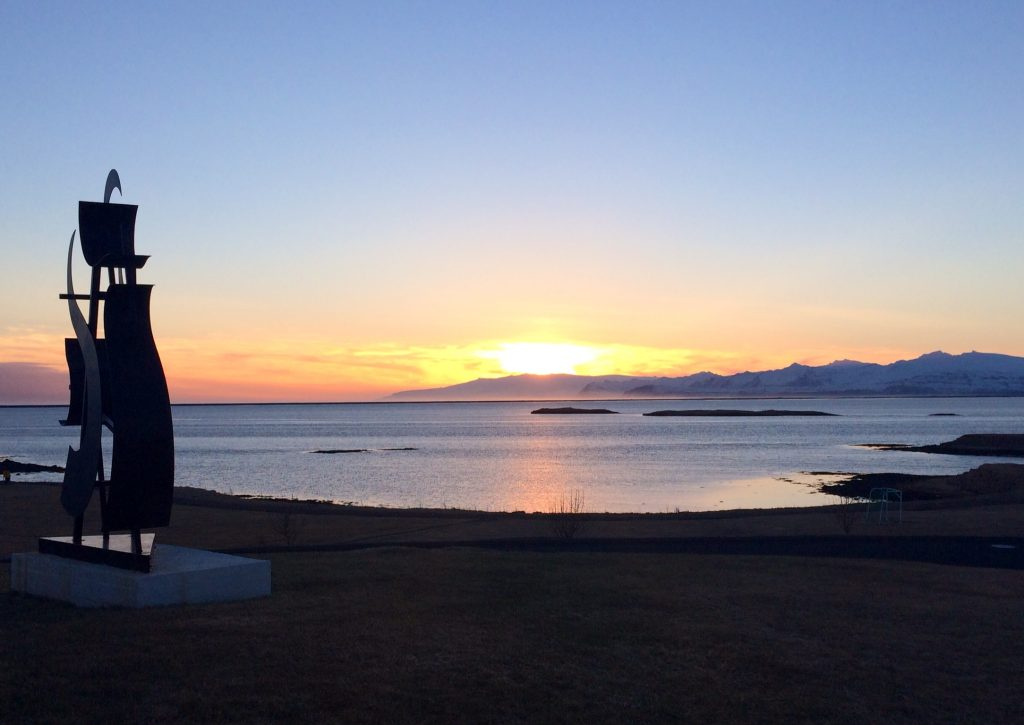Por do sol em Höfn - foto Lalai Persson