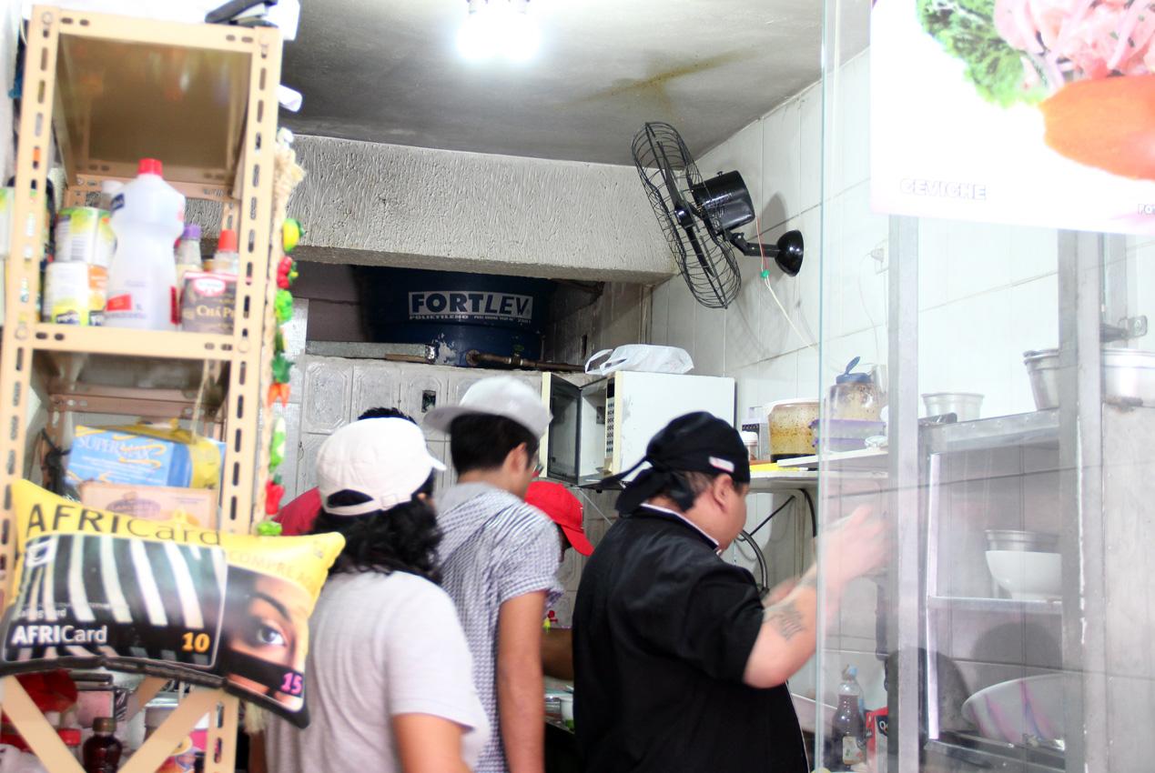 O cantinho do staff Foto: isamiolino.com