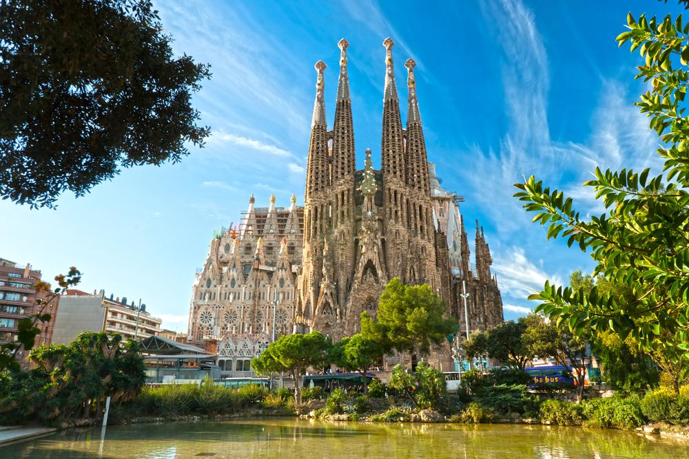 Sagrada Familia - foto: Luciano Mortula - shutterstock.com