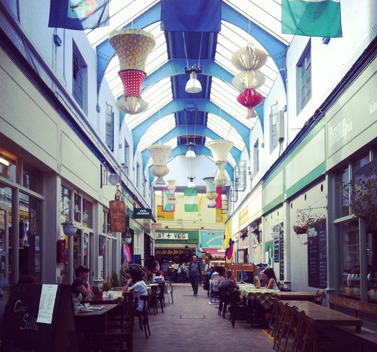 Brixton Market. Crédito Almost Locals