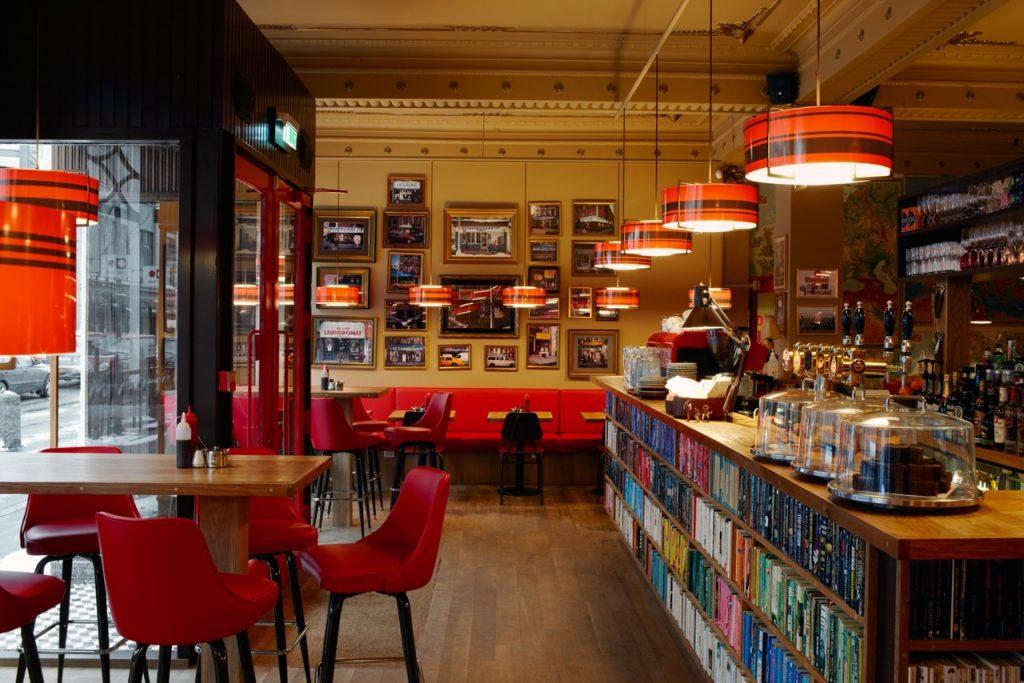The Laundromat Café - Reprodução Laundromat Café