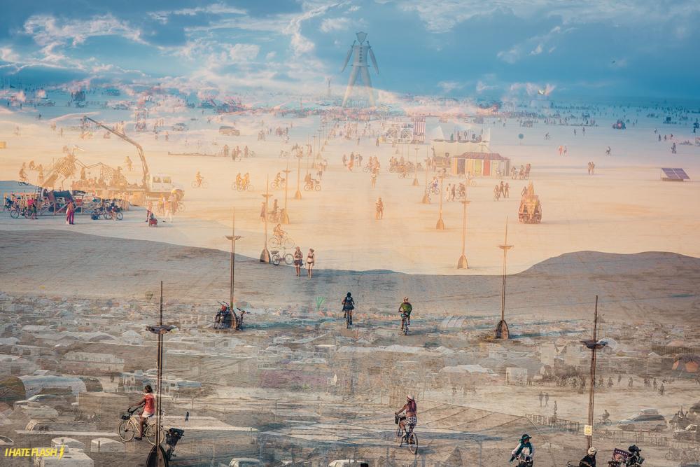 Burning Man 2014 - crédito foto: I hate flash
