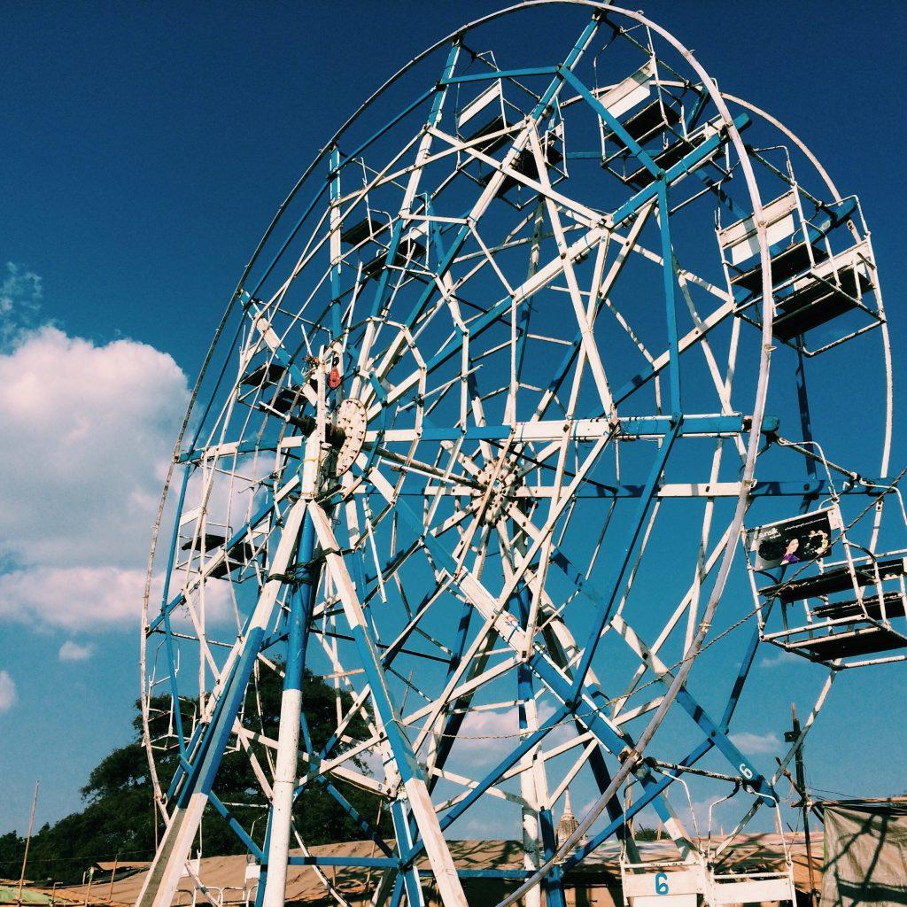 Roda gigante. Foto: Lalai Persson.