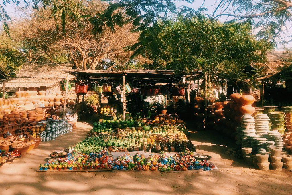Old Bagan Market. Foto: Lalai Persson.