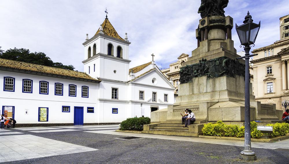 Pateo do Colégio. Foto: Filipe Frazao. Cortesia: Shutterstock.com