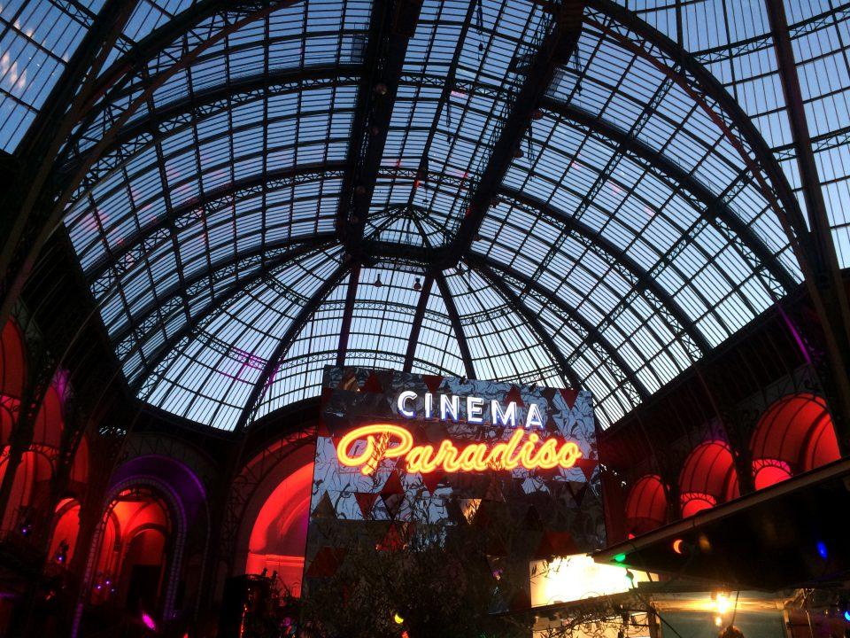 Entrada principal do Cinema Paradiso. Foto: Lalai Persson