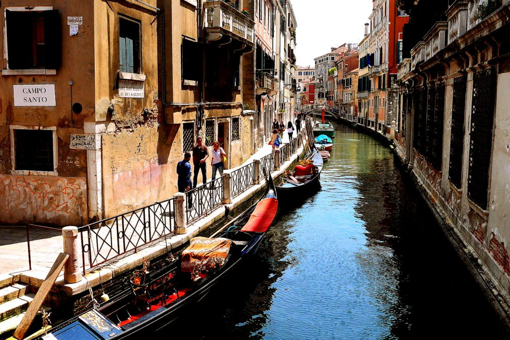 Andar por Veneza sem muvuca, mesmo na alta temporada do verão: sim, é possível!