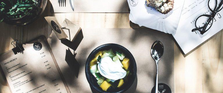 HM Food Café, uma das partes do Estudio Dama. Foto: divulgação
