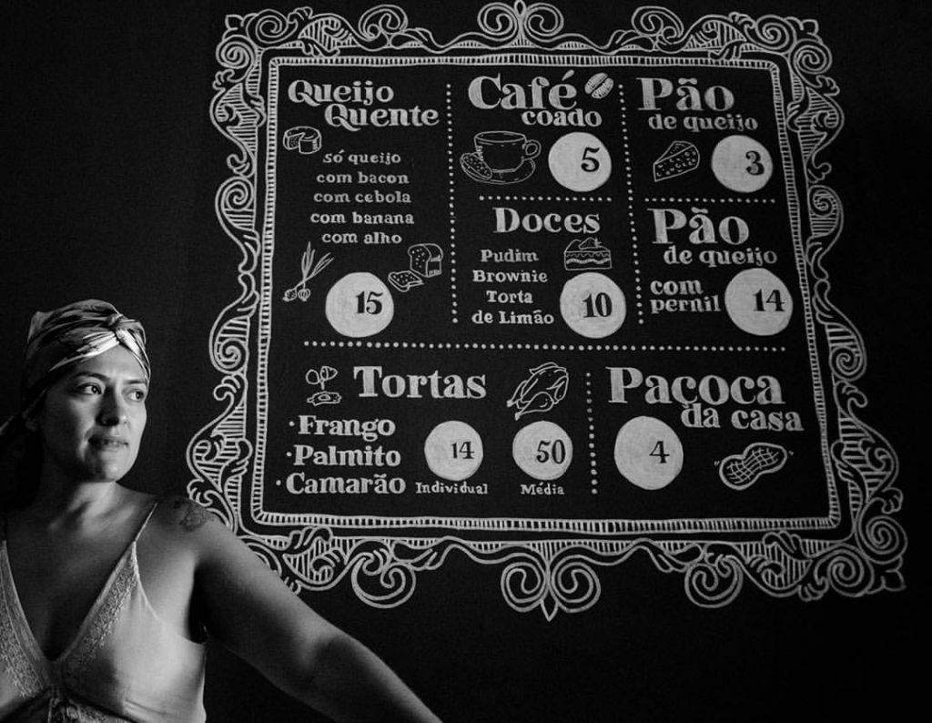 Talitha e seu cardápio incrível (foto: divulgação)