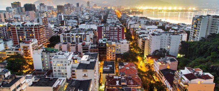 Vista aérea de Ipanema. Foto: Levitanus / Shutterstock.com