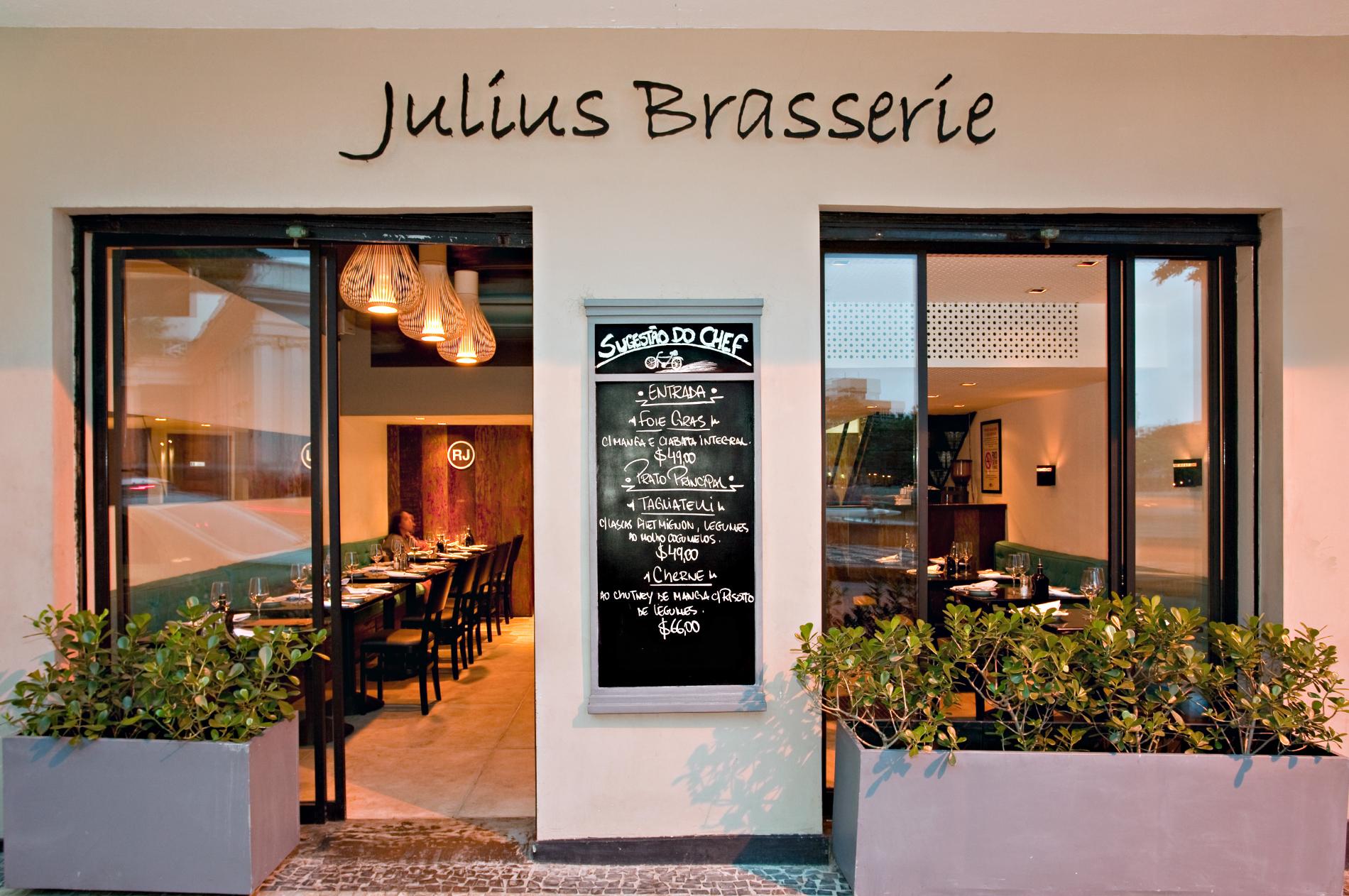 Julius Brasserie. Foto: Divulgação