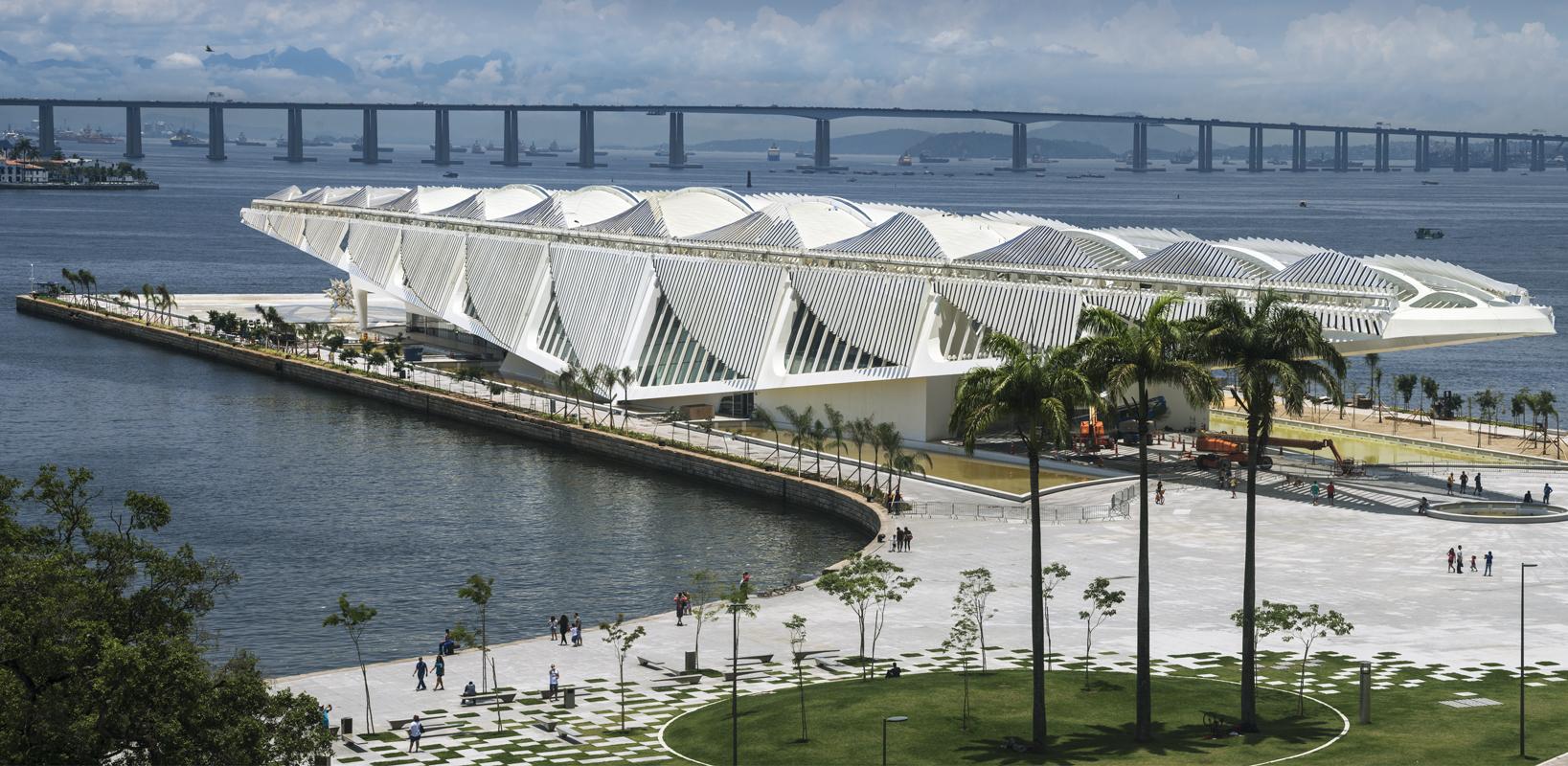 Museu do Amanhã. Foto: Cesar Barreto / Divulgação