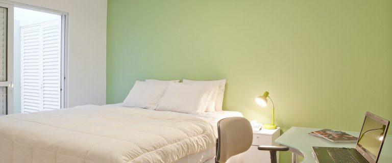 Leblon All Suites Design Hostel. Suite Master. Foto: Divulgação