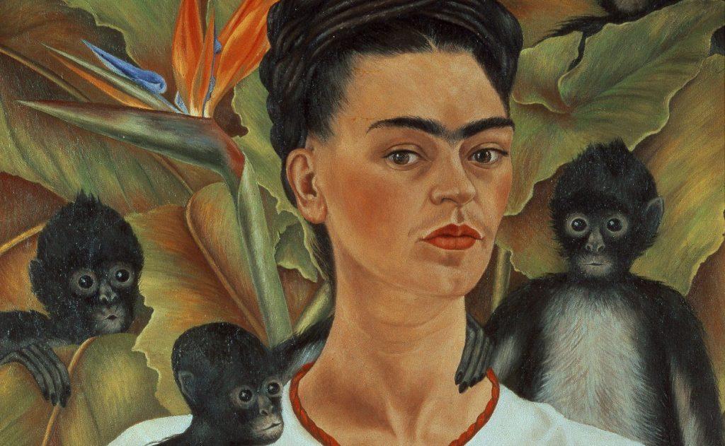 'Autorretrato com macacos', 1943