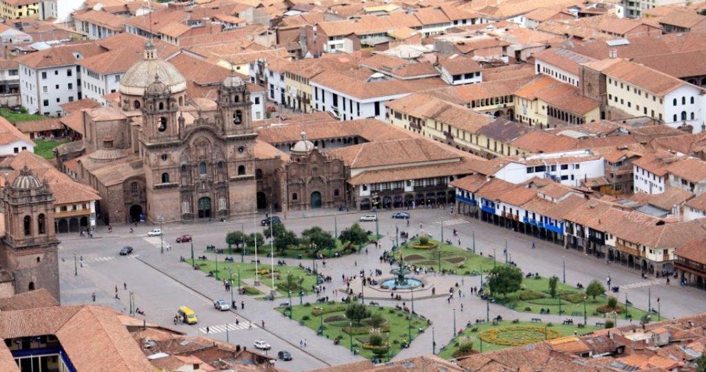 Plaza de Armas, Cusco (Foto: Karen Walker)