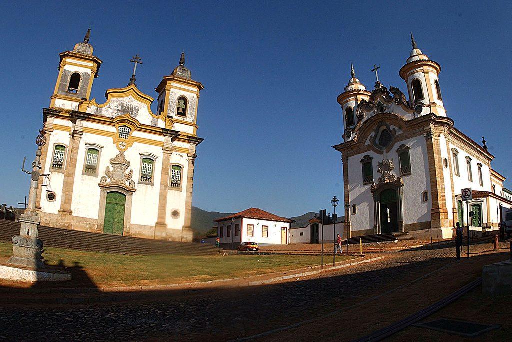 A Ordem Terceira de São Francisco, em Mariana (foto: Agência Brasil)