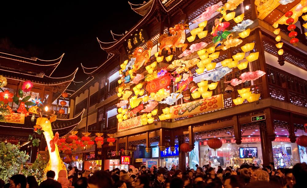 Festival da Lanterna em Shangai - claudio zaccherini / Shutterstock.com