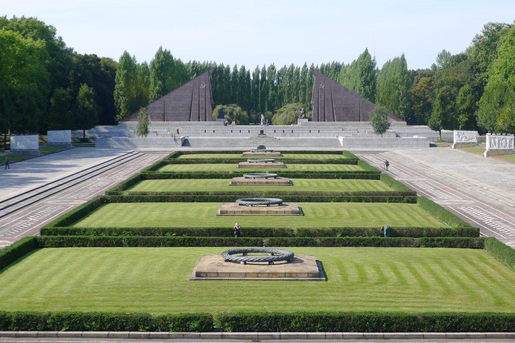 O Memorial Soviético no Treptower Park