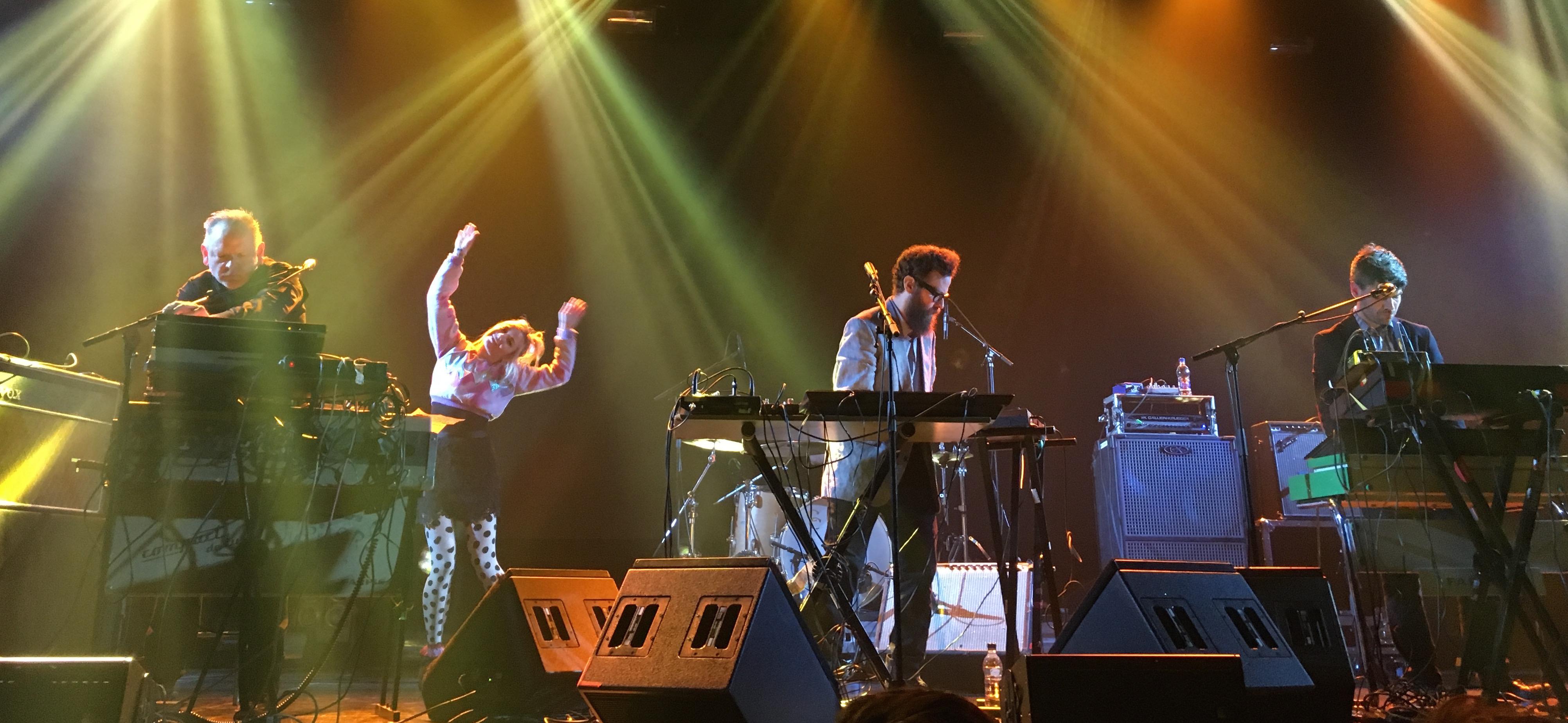 Apparat Organ Quartet @ SonarClub. Foto: Lalai Persson
