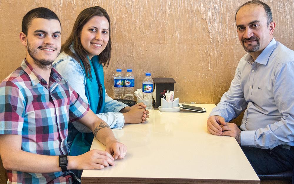 Encontro com o consul do Brasil no Curdistão iraquiano