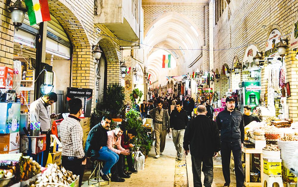 Mercado de Erbil