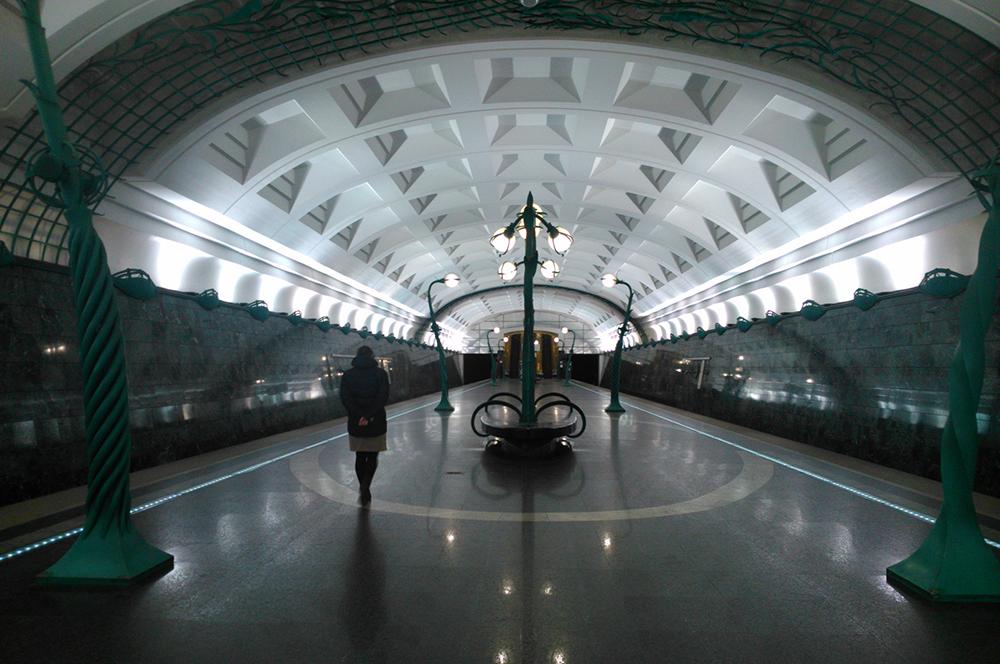 Estação Slavyansky Bulvar (foto: flickr.com/serger)