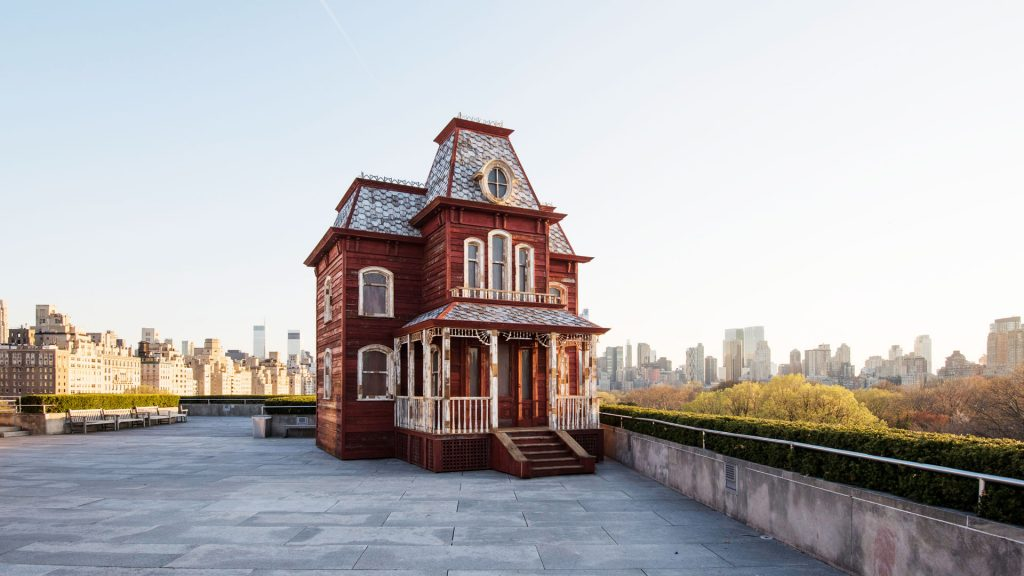 The Roof Garden Commission: Cornelia Parker, Transitional Object (PsychoBarn) , 2016