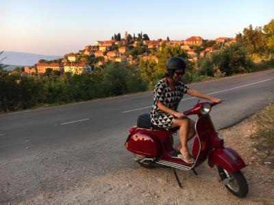 Passeio de scooter em Vrisnic