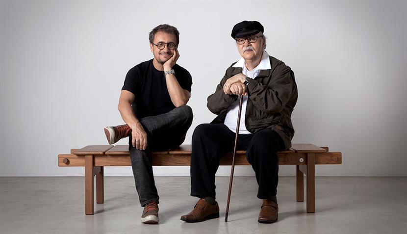Fernando Mendes e Sergio Rodrigues (foto: divulgação)