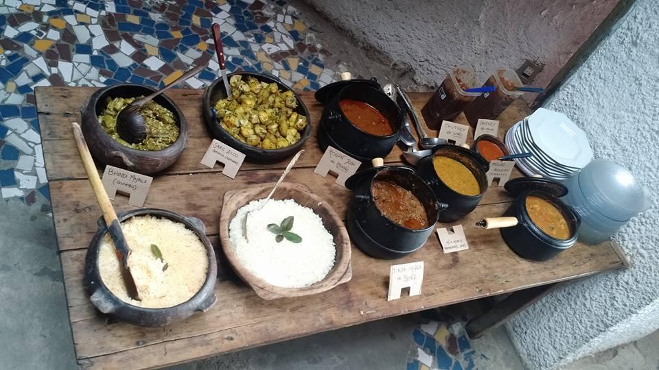 Pratos do Hoje tem Curry. Foto: reprodução do Facebook