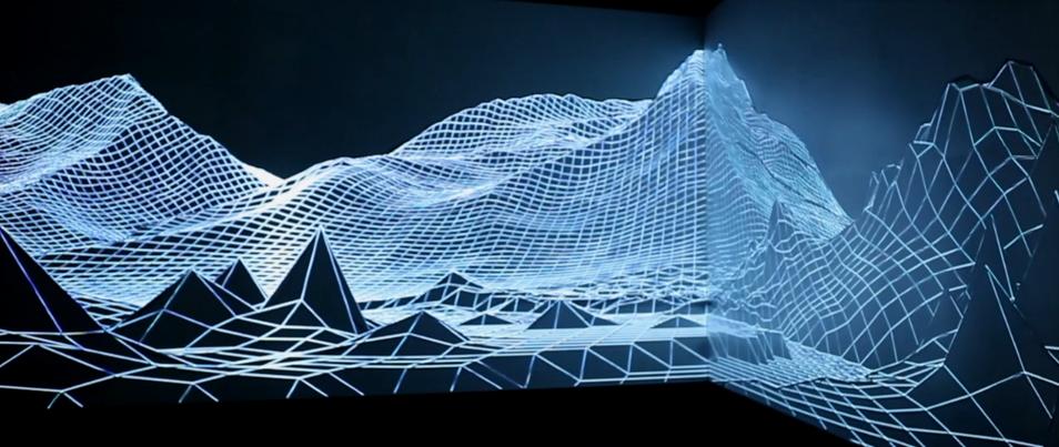'Eyjafjallajökull', instalação audiovisual de Joanie Lemercier