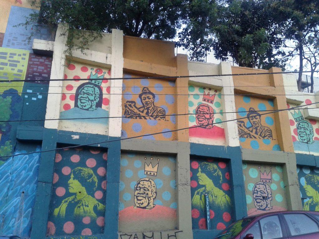 Mural no Bixiga Foto: Patrícia Ribeiro/Passeios Baratos em SP