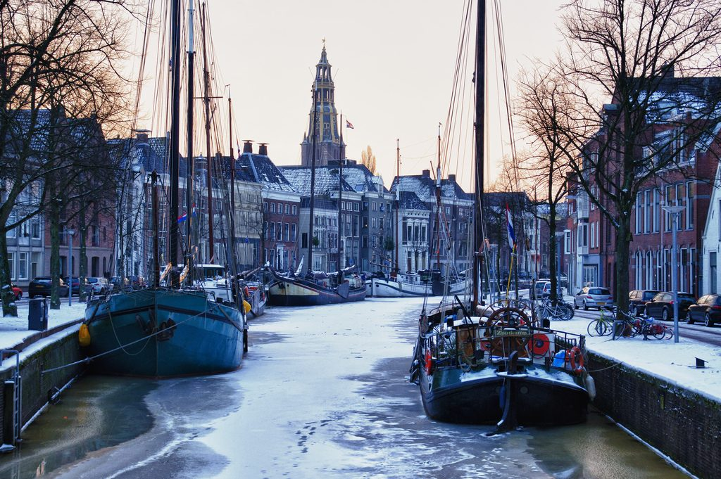 Groninger no inverno. Foto: Bert Kaufmann
