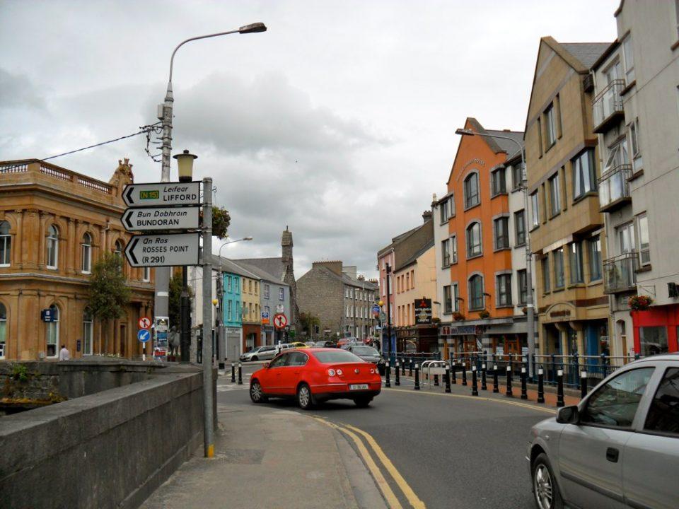 Sligo town, Ireland. Foto: Jhyman90