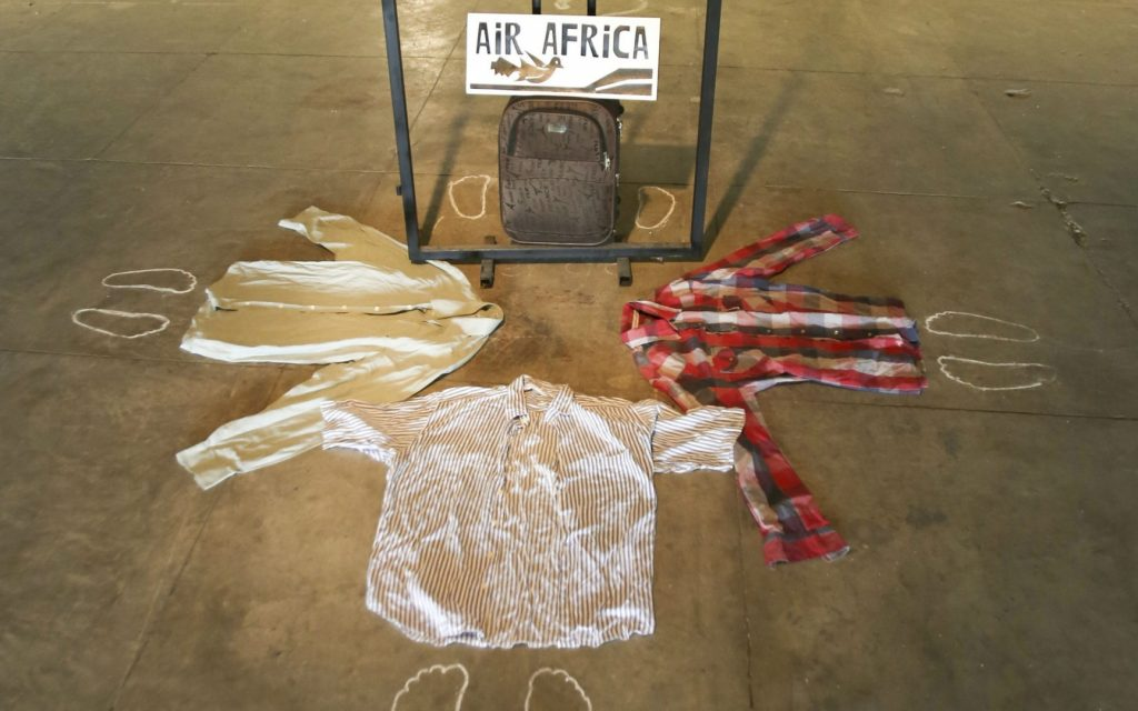 """Uma das obras expostas no Museu do Amanhã """"Air Africa"""". Foto: Divulgação/Museu do Amanhã"""