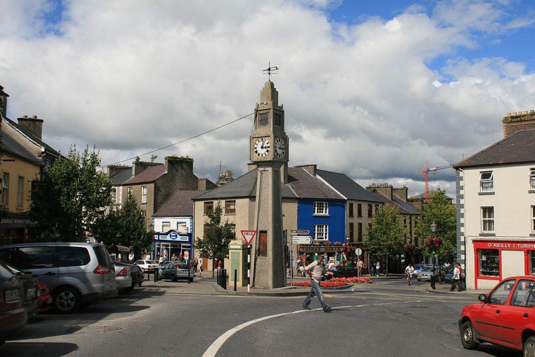 Centro de Westport, Irlanda. Foto: Andreas F. Borchert