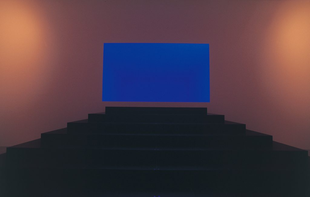 Open Field, James Turrell - a entrada