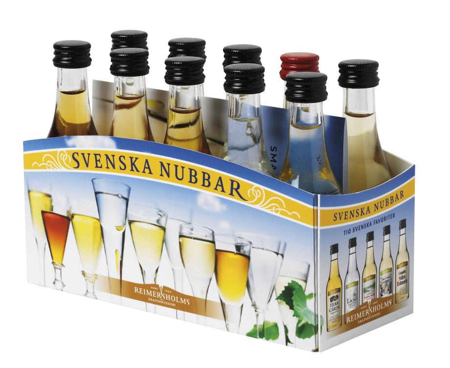Os famosos snaps suecos à venda na Feira Escandinava
