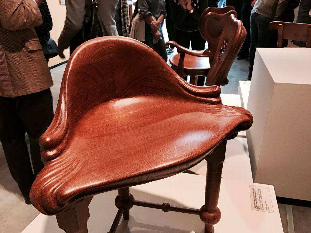 Réplicas de cadeiras da época
