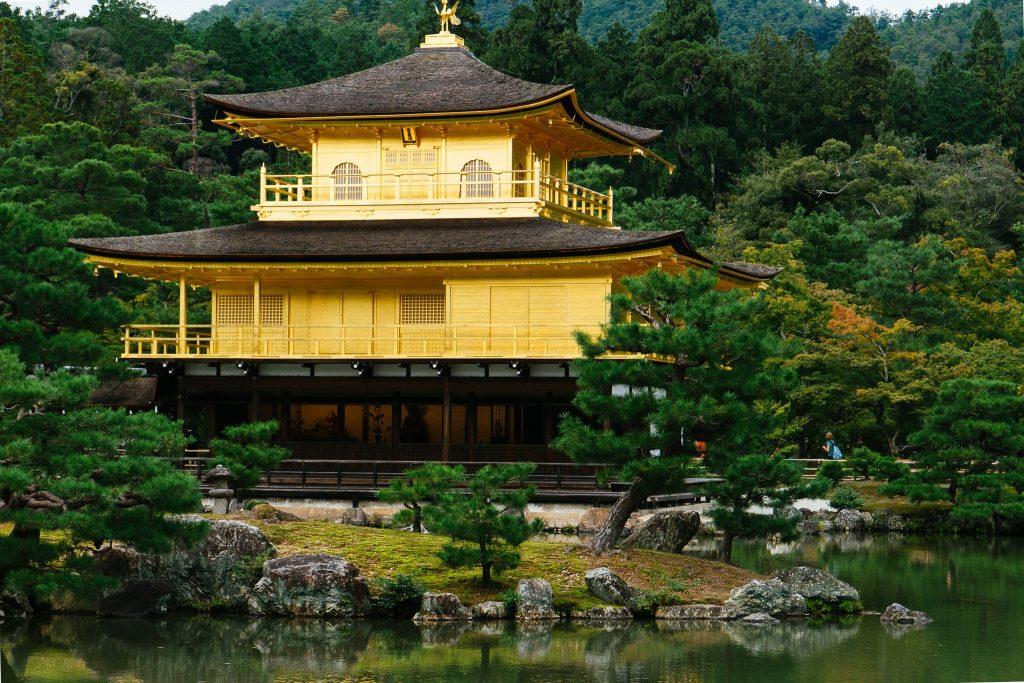 O Templo Dourado, em Kyoto. Foto: Ola Persson