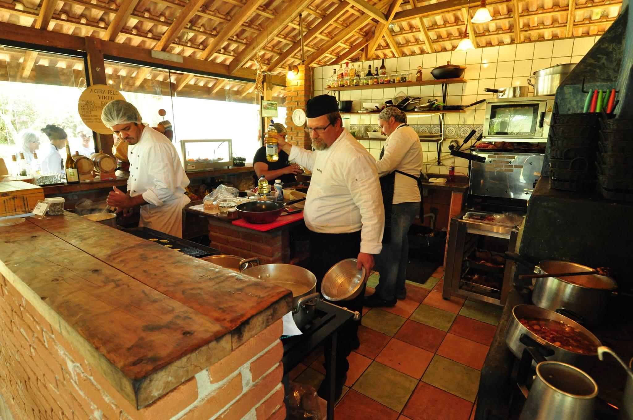 Cozinha do Entre Vilas - foto: Divulgação