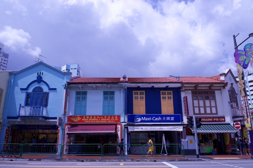 A colorida Little India. Foto: Lalai Persson