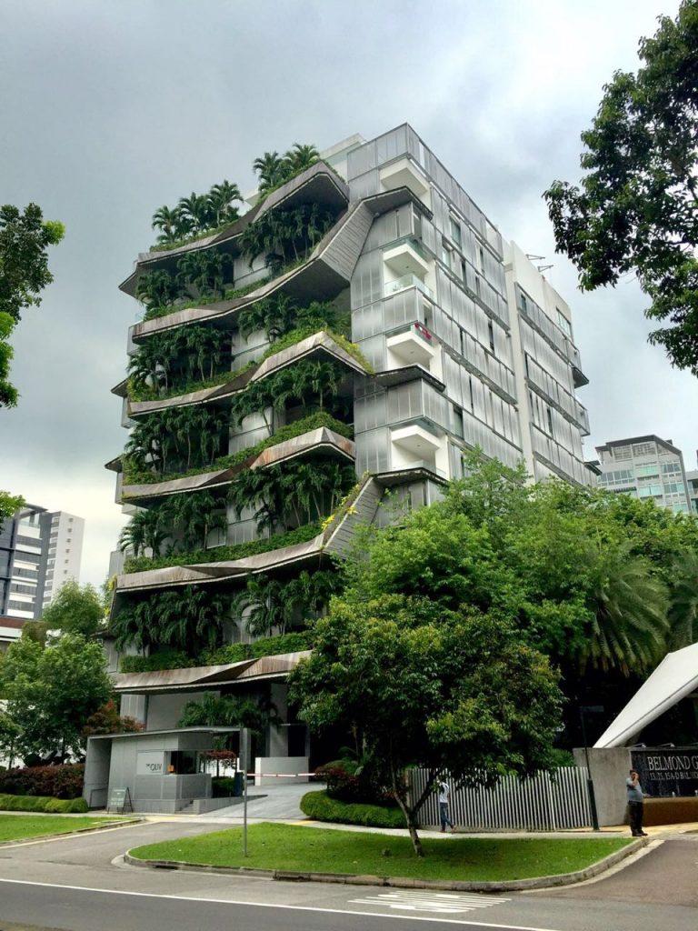 A arquitetura moderna de Singapura. Foto: Rebecca Barreto