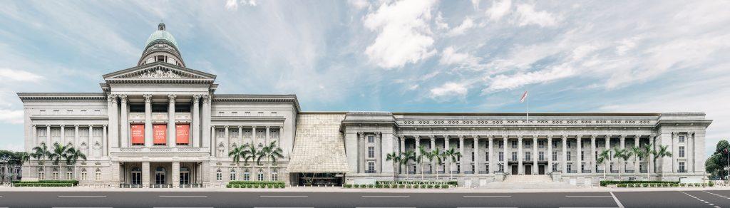 National Gallery Singapore. Foto: Divulgação