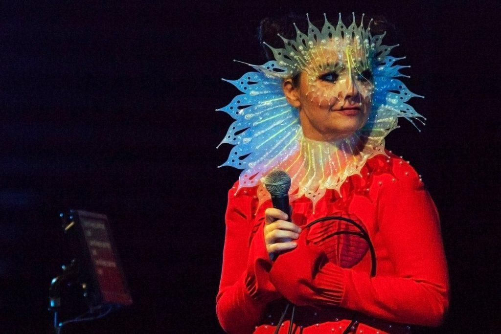 Björk no Iceland Airwaves, 2016. Foto: Santiago Felipe.